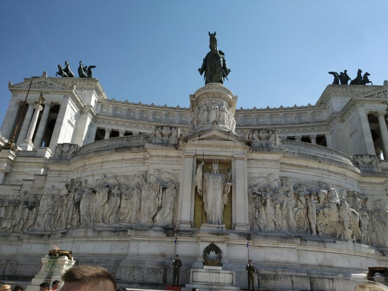 The magnificent architecture in Rome