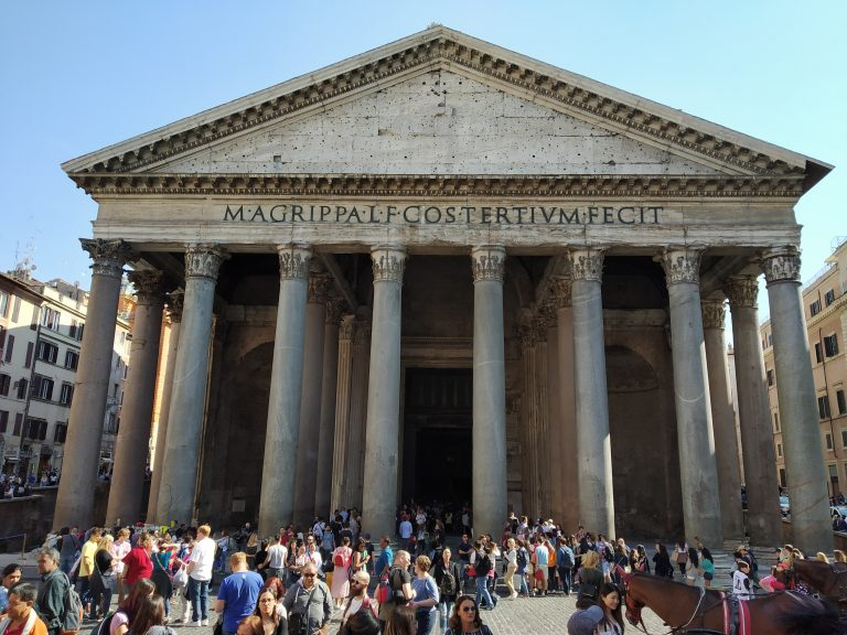 The Pantheon of the Roman gods (Not anymore)