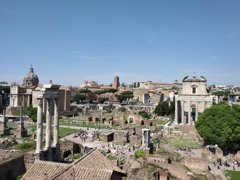 The ruins of the Roman empire