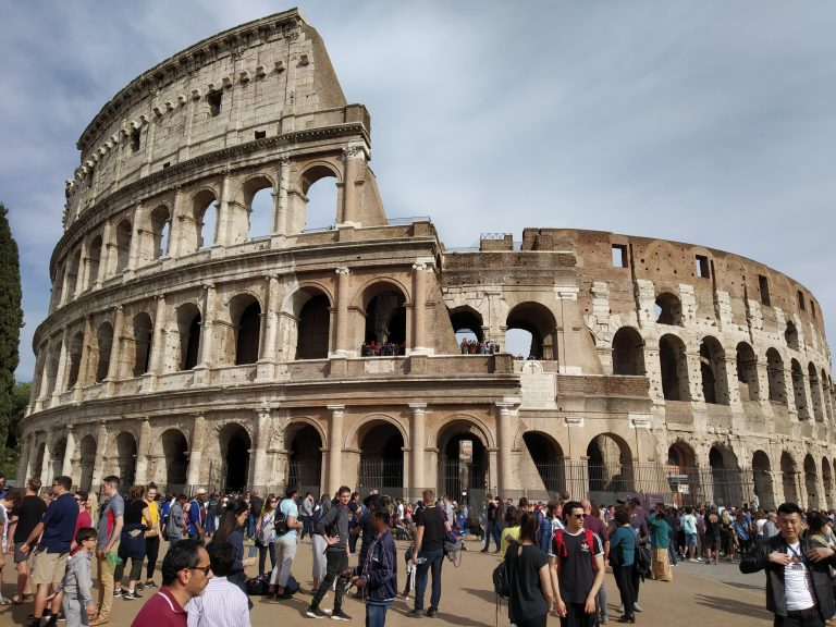 Once stood here the great gladiators !!