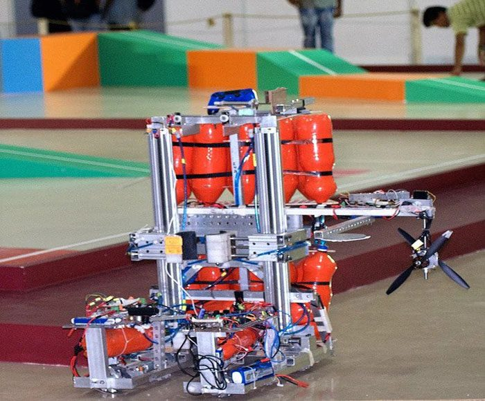 The main bot for ROBOCON 2016